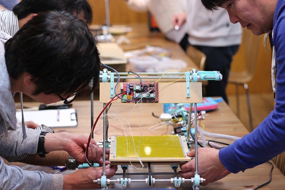 3Dプリンターを作る講座