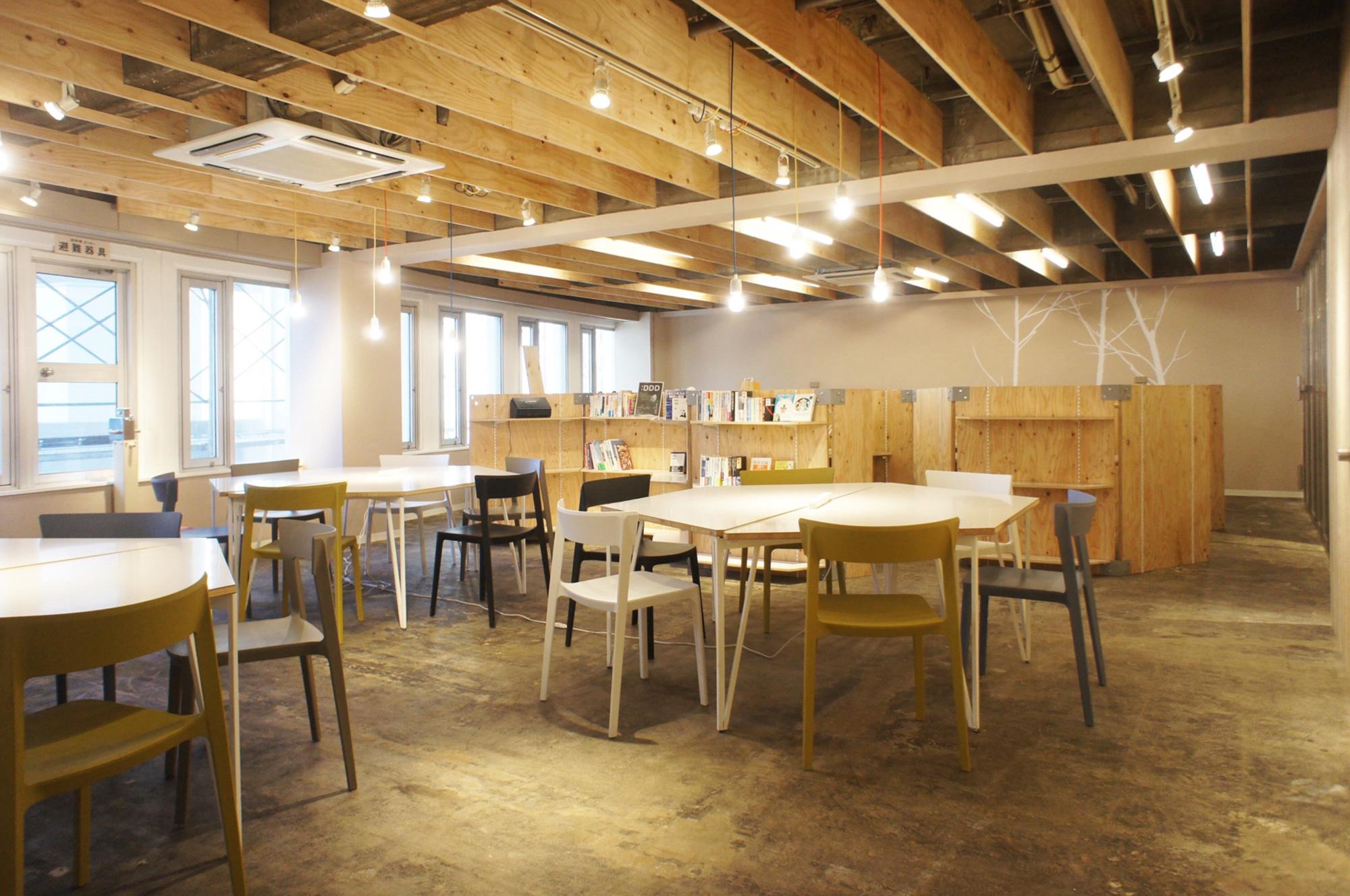 新宿・代々木 シェアオフィス  スペース貸切|4階