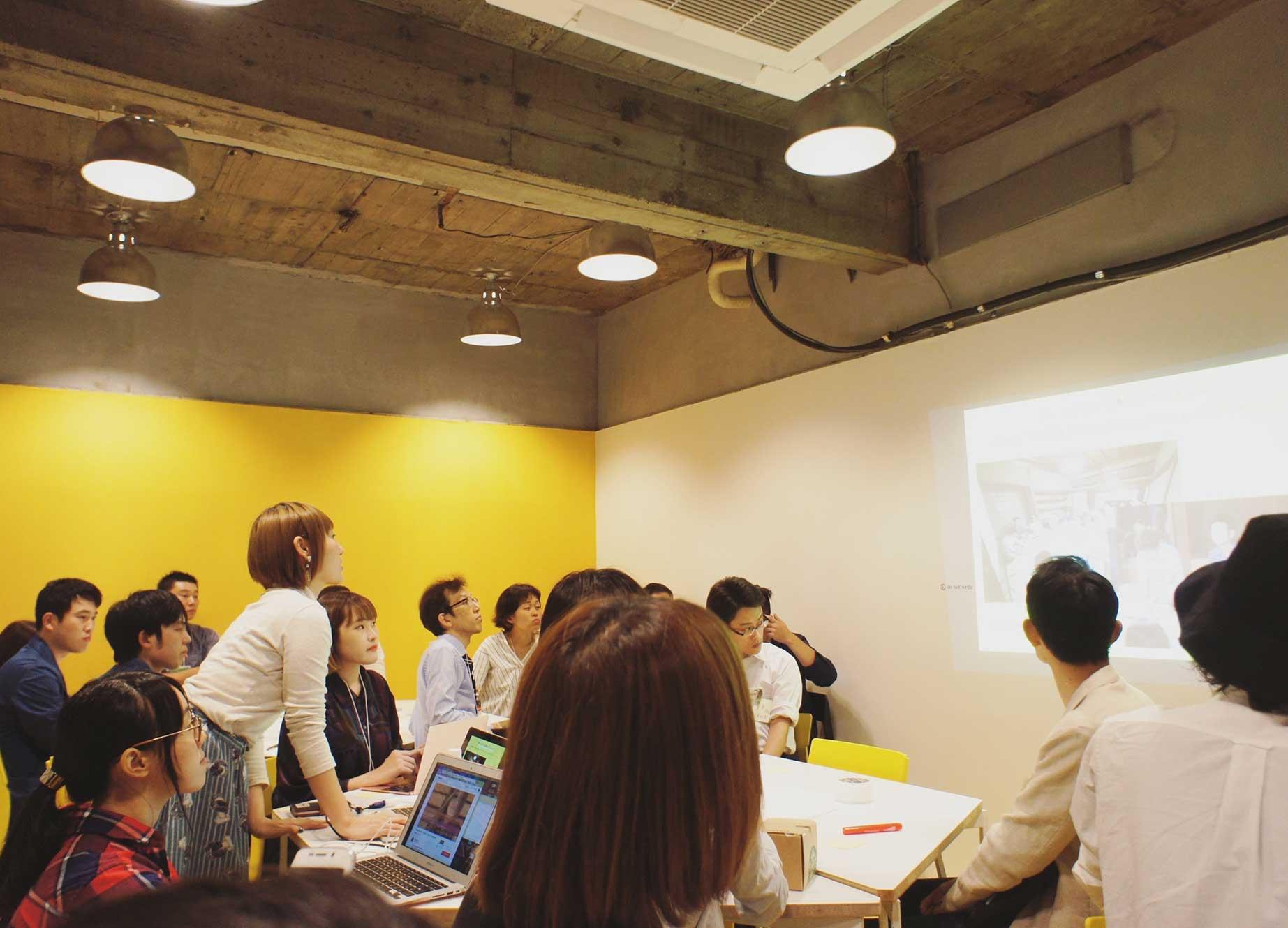 新宿・代々木 シェアオフィス x コワーキング | Connecting The Dots YOYOGI|地下大会議室