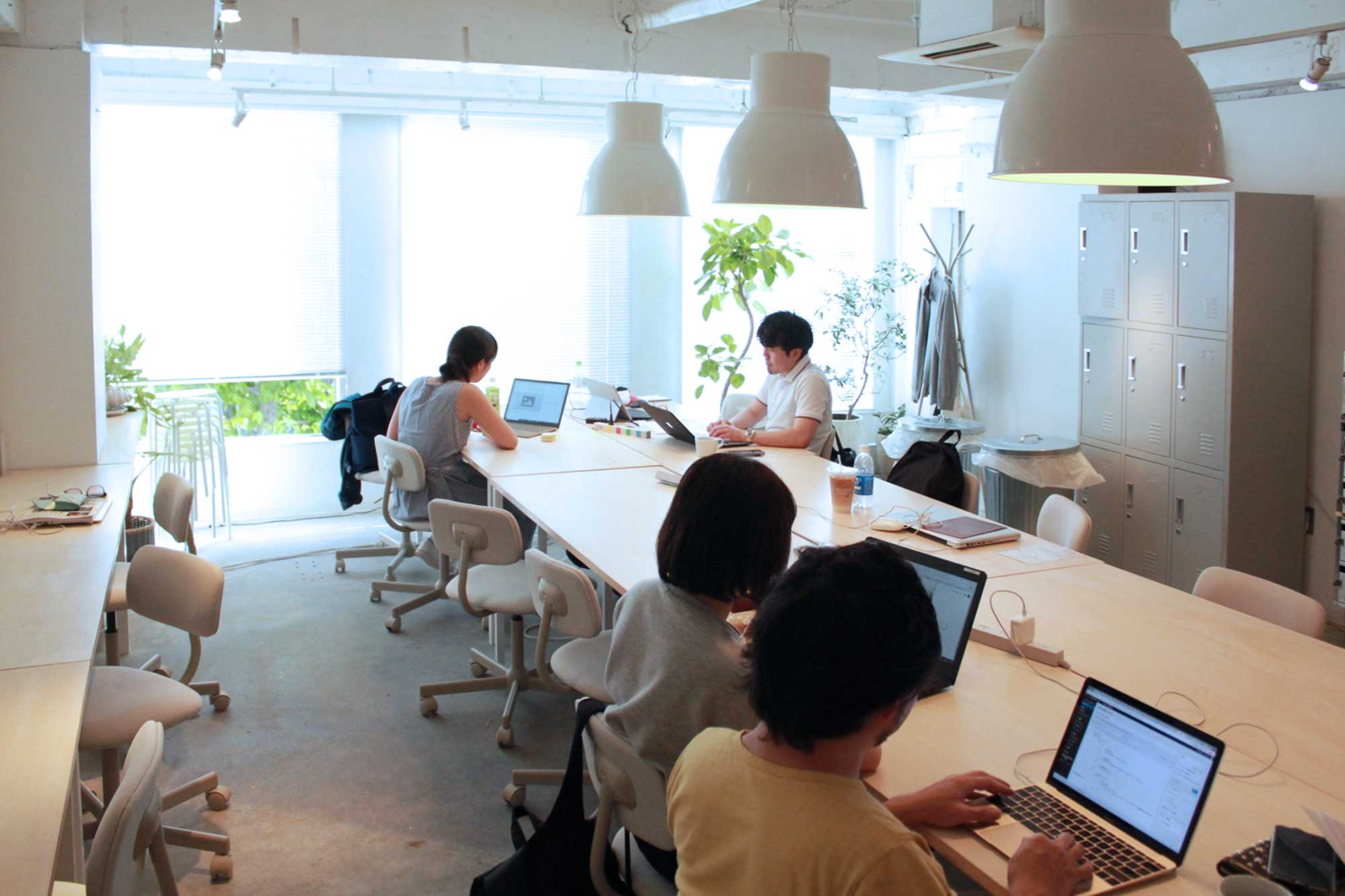 渋谷 コワーキング  共有席
