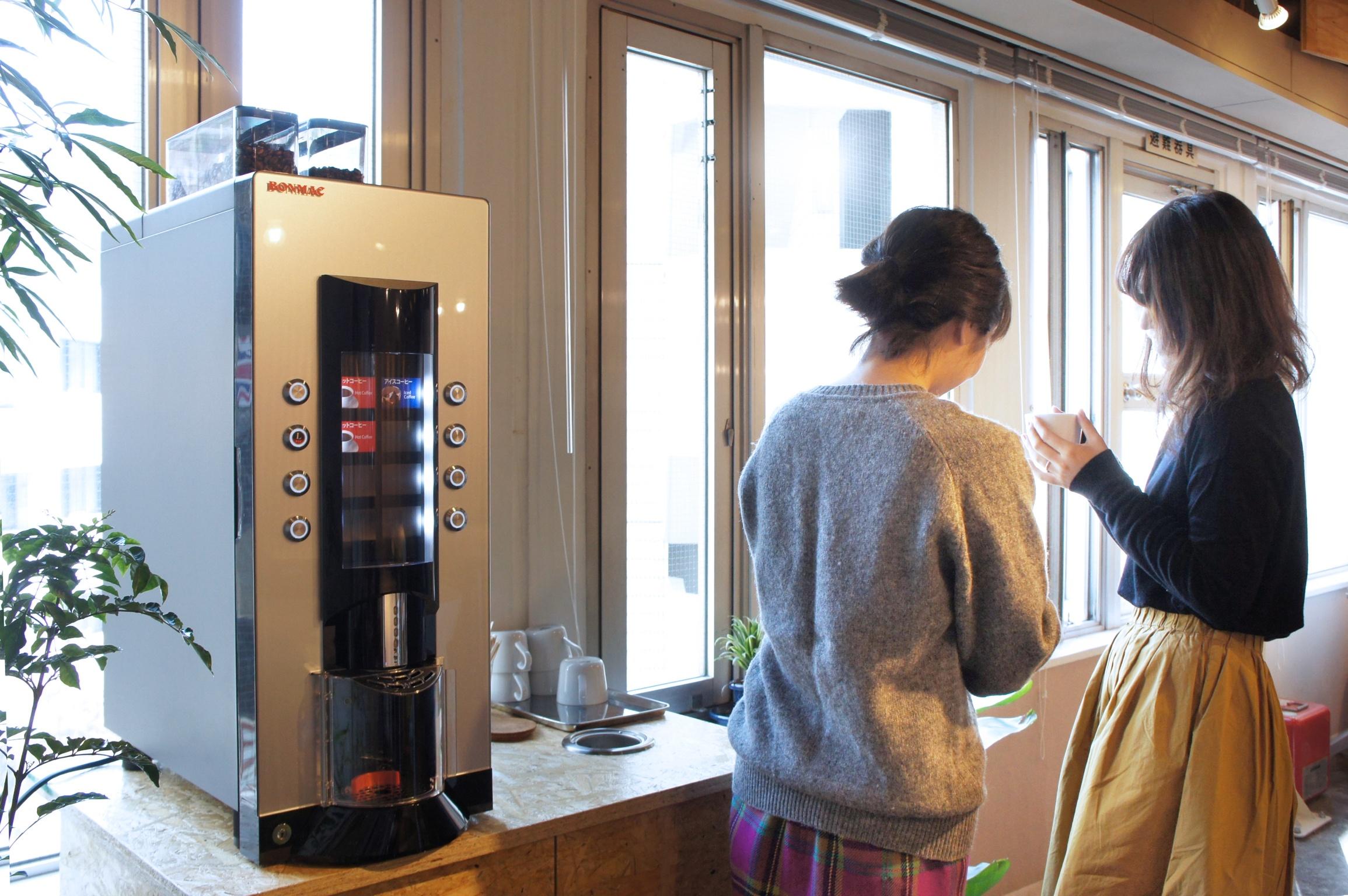 新宿・代々木 シェアオフィス  コーヒーサービス