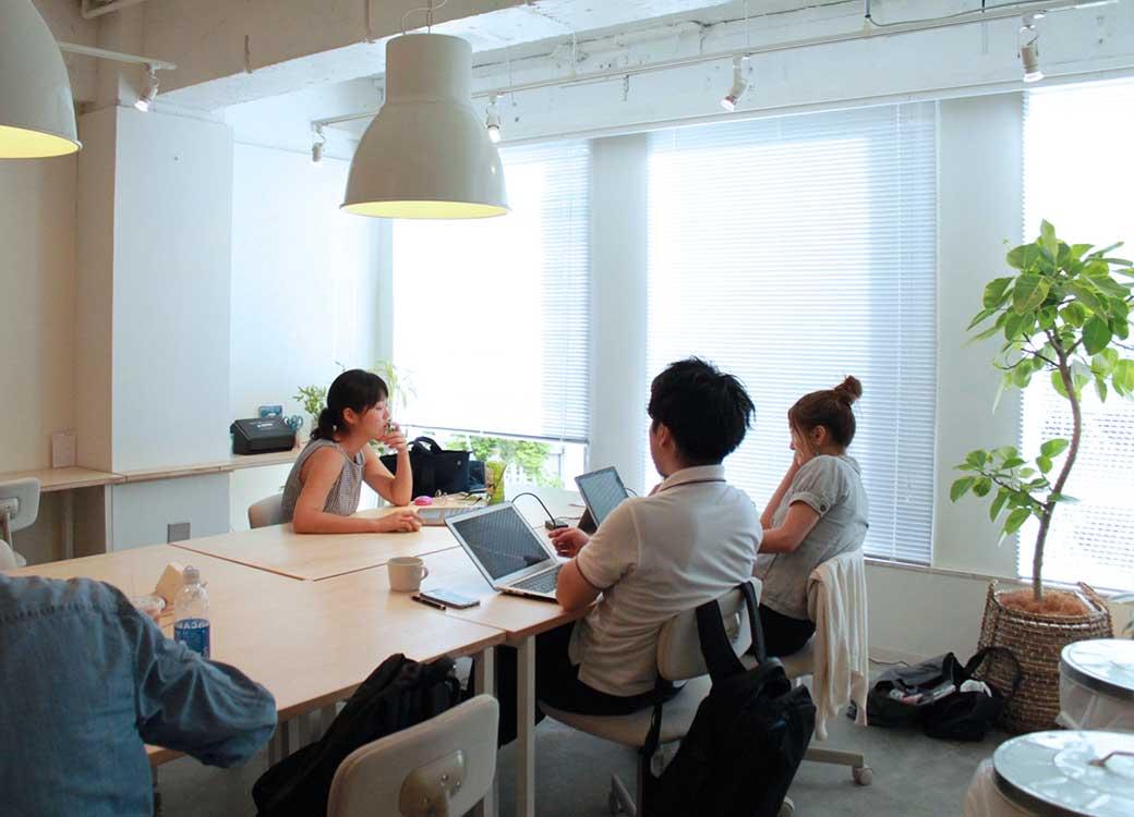 渋谷 シェアオフィス x コワーキング | Connecting The Dots SHIBUYA|4階共有席