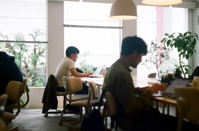 渋谷 シェアオフィス・コワーキング| 共有席 利用のイメージ